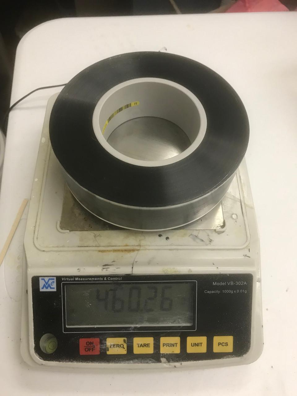BOPP Capacitor Film, 2.0 um to 15 um thick, 200 mm x 270 mm