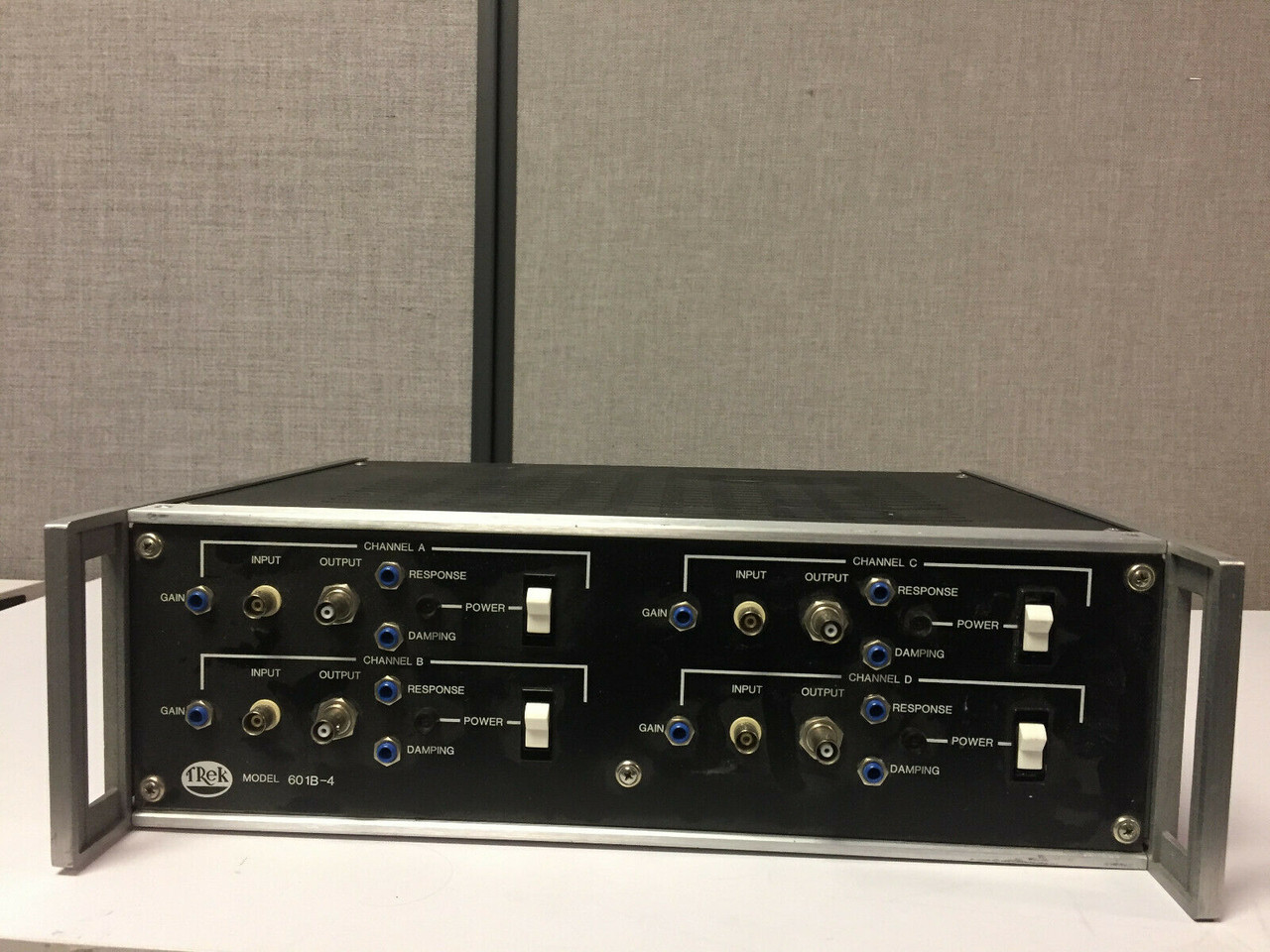 Refurbished Trek 601B-4 [Four channels] High Voltage Amplifier +/-500/10mA Warranty all Cable