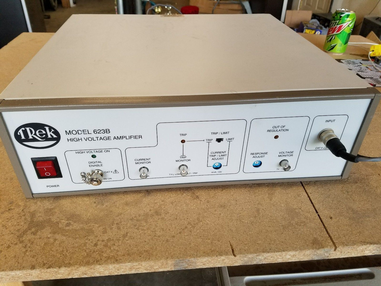 Trek 623B-L-CE High Voltage Amplifier, Refurbished, with cables, manual and warranty