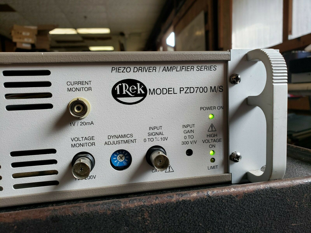 Trek PZD700-M/S High Voltage Amplifier and Piezo Driver, +/-700V, 200 mA, Refurbished, with cables and warranty