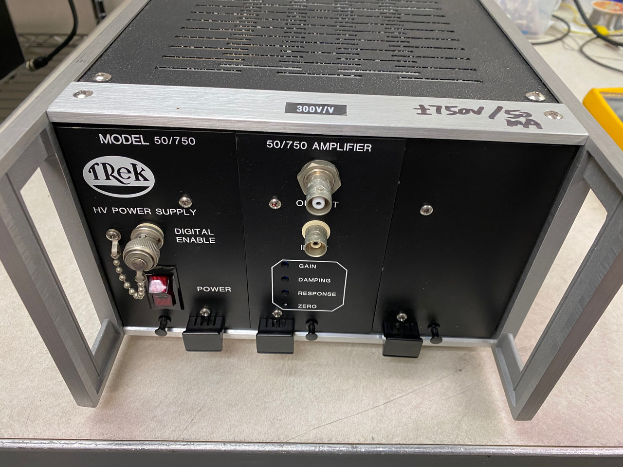 Trek 50/750 (PZD700) High Voltage Amplifier and Piezo Driver, +/-750V, 50 mA, single channel, Refurbished, with cables and warranty