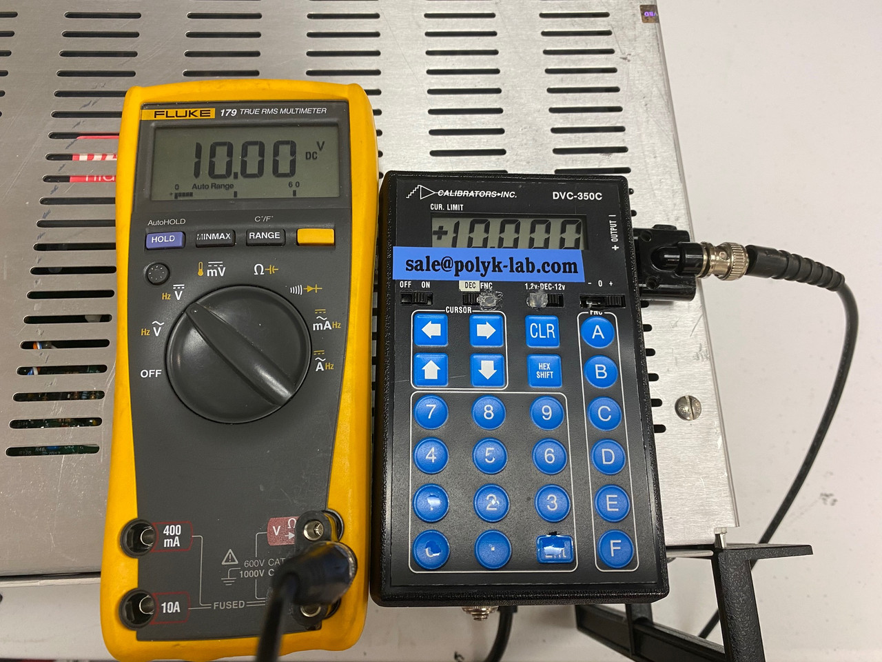 Trek10/40 +/-10 kV/40 mA High Voltage Amplifier & Power Supply with All Cables, Refurbished