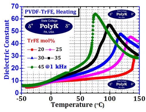 P(VDF-TrFE) Copolymer Resin 20 gram, 50/50 mol to 80/20 mol