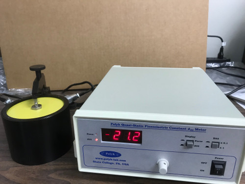 Piezoelectric meter PKD3-2000 to measure d33 piezoelectric constant, up to 200 or 2000 pC/N