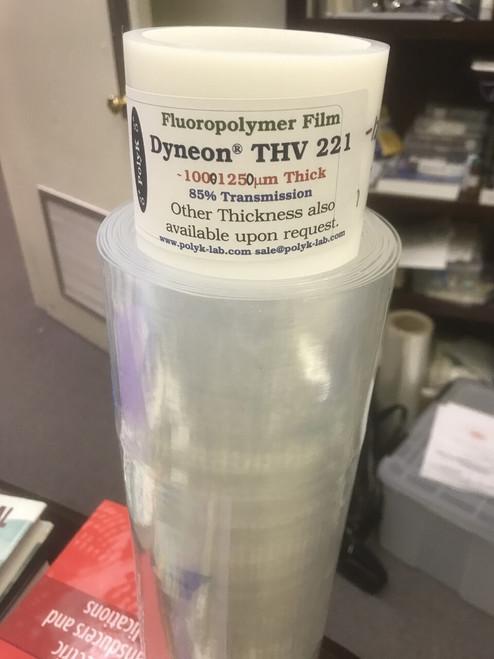 THV 221 GZ Tape, Transparent, 40-50 mil [1 mm-1.25 mm] thick, 200 mm x 270 mm