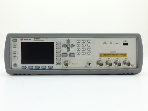 Used Keysight Used E4980AL Precision LCR Meter - 20 Hz to 1 MHz (Agilent) with high temperature test fixture and software