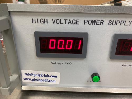 New High Voltage Power Supply +30 kV, 2 mA, Current Limit, With Cables