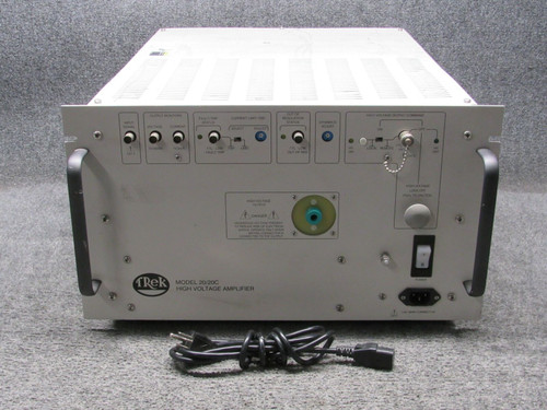 Trek 20/20C +/-20 kV/20 mA High Voltage Amplifier & Power Supply with All Cables, Refurbished