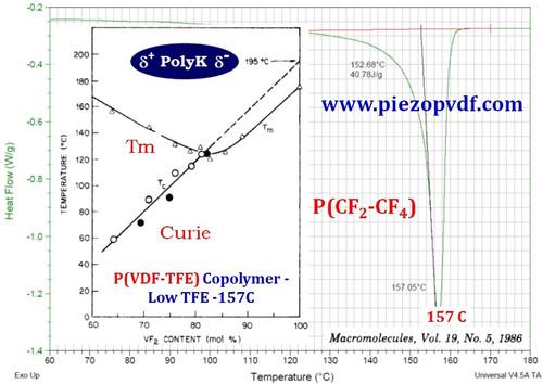 P(VDF-TFE) Copolymer 95/05 Melting 157 C