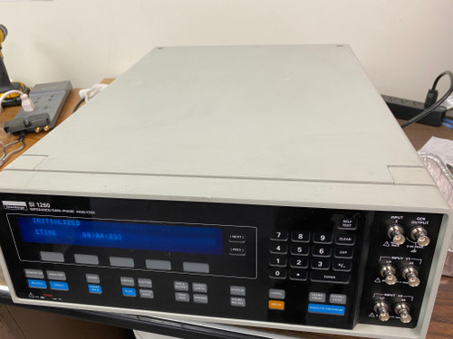Solartron 1260 Impedance Gain/Phase Analyzer, Used but working