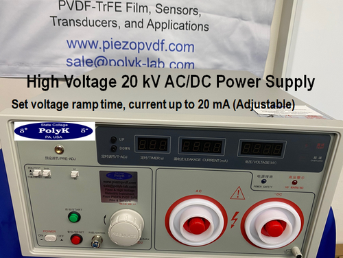 PolyK New 20kV DC and AC Hipot Testers 20 mA with high voltage cable and manual
