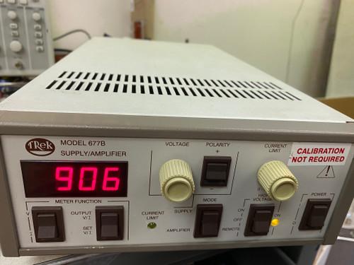 Trek Model 677B High Voltage Amplifier , +/-2000V, 5 mA, Refurbished, with cables,  Sep 11 2021 Calibration