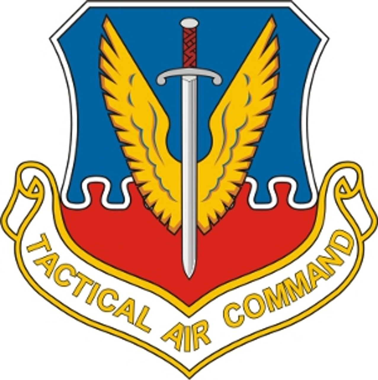 Sticker  US Air Force USAFTactical Air Command Decal