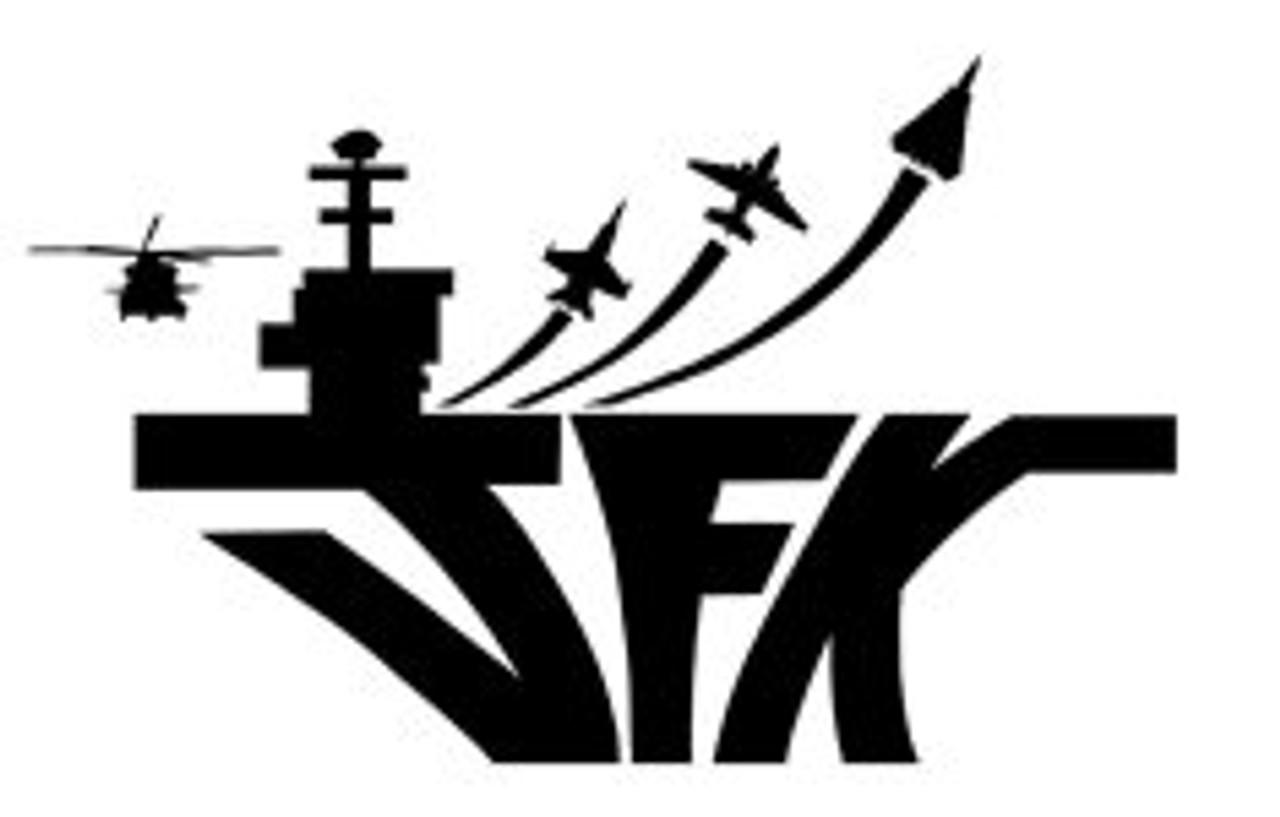 USS John F Kennedy Decal Sticker