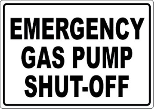 Safety Signs - Gas Station & Pump Signs - Page 1 - InkAce