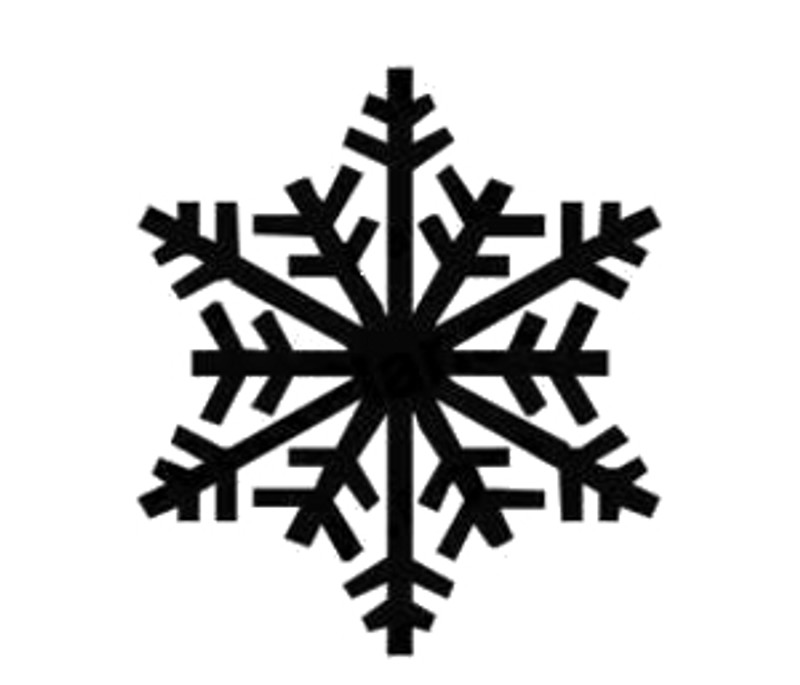 Snowflake Decal