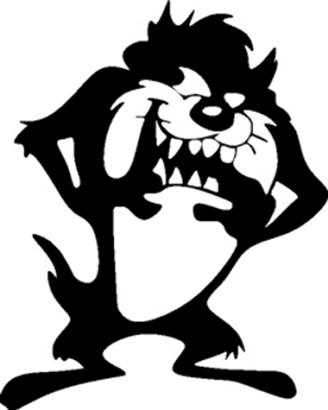 Tasmanian Devil Decal