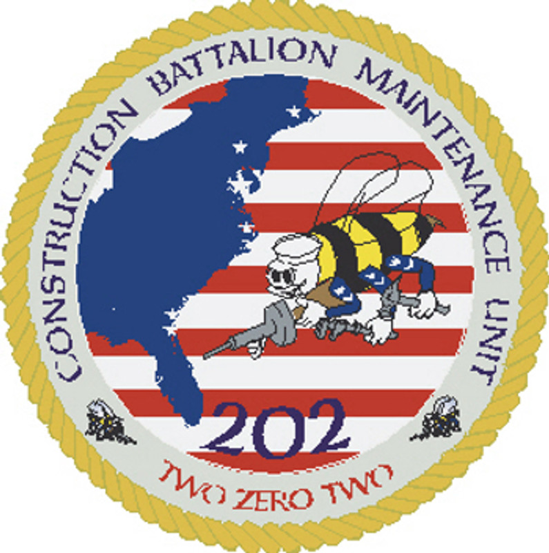 US Navy 202nd Naval Construction Battalion Maintenance Unit (CBMU-202)