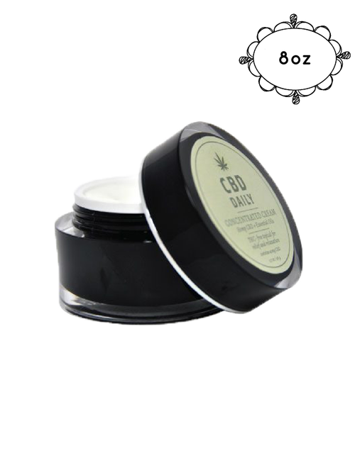 Earthly Body CBD  Intensive Cream 8oz