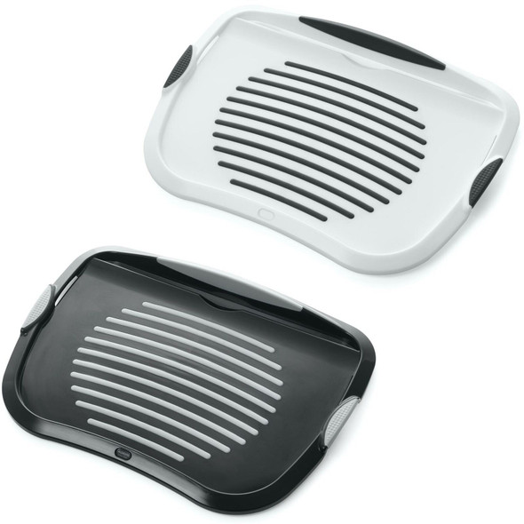 Addis Lap Food Serving Tray TV Dinner with iPhone/iPad Media & Wine Glass Holder