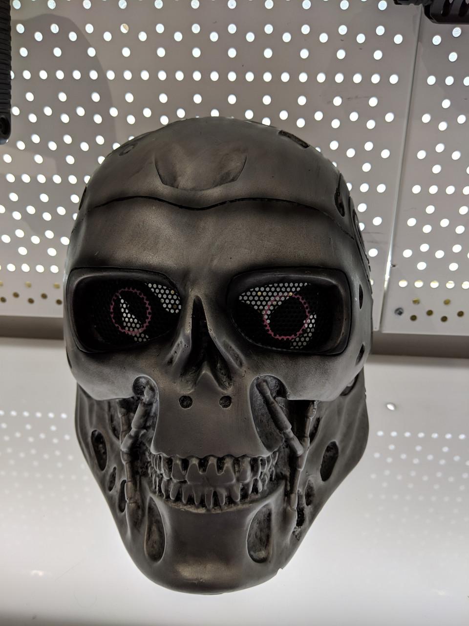 Silver Skeleton Skull