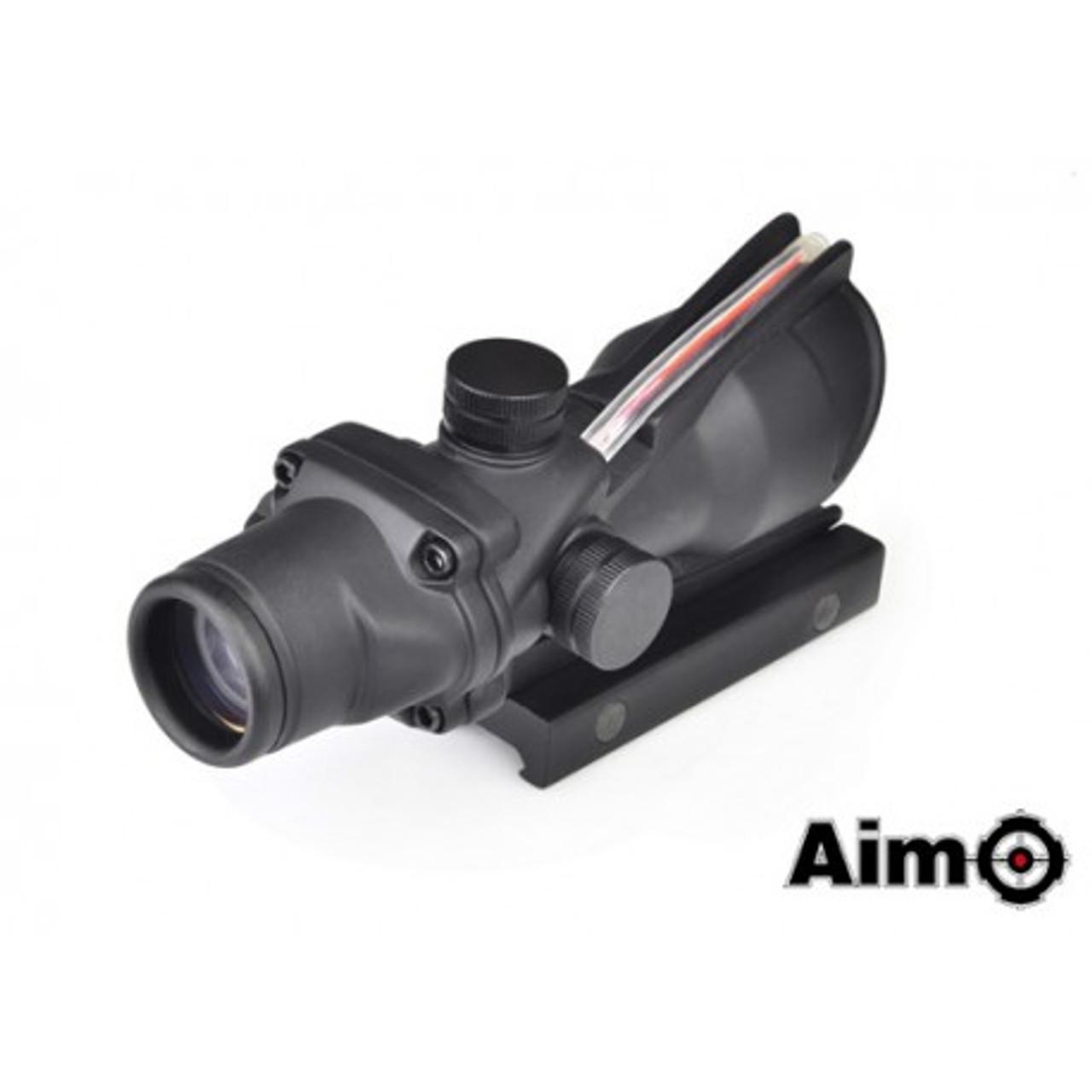 Aim-O ACOG 4X32 Red Dot Real Fiber Optic