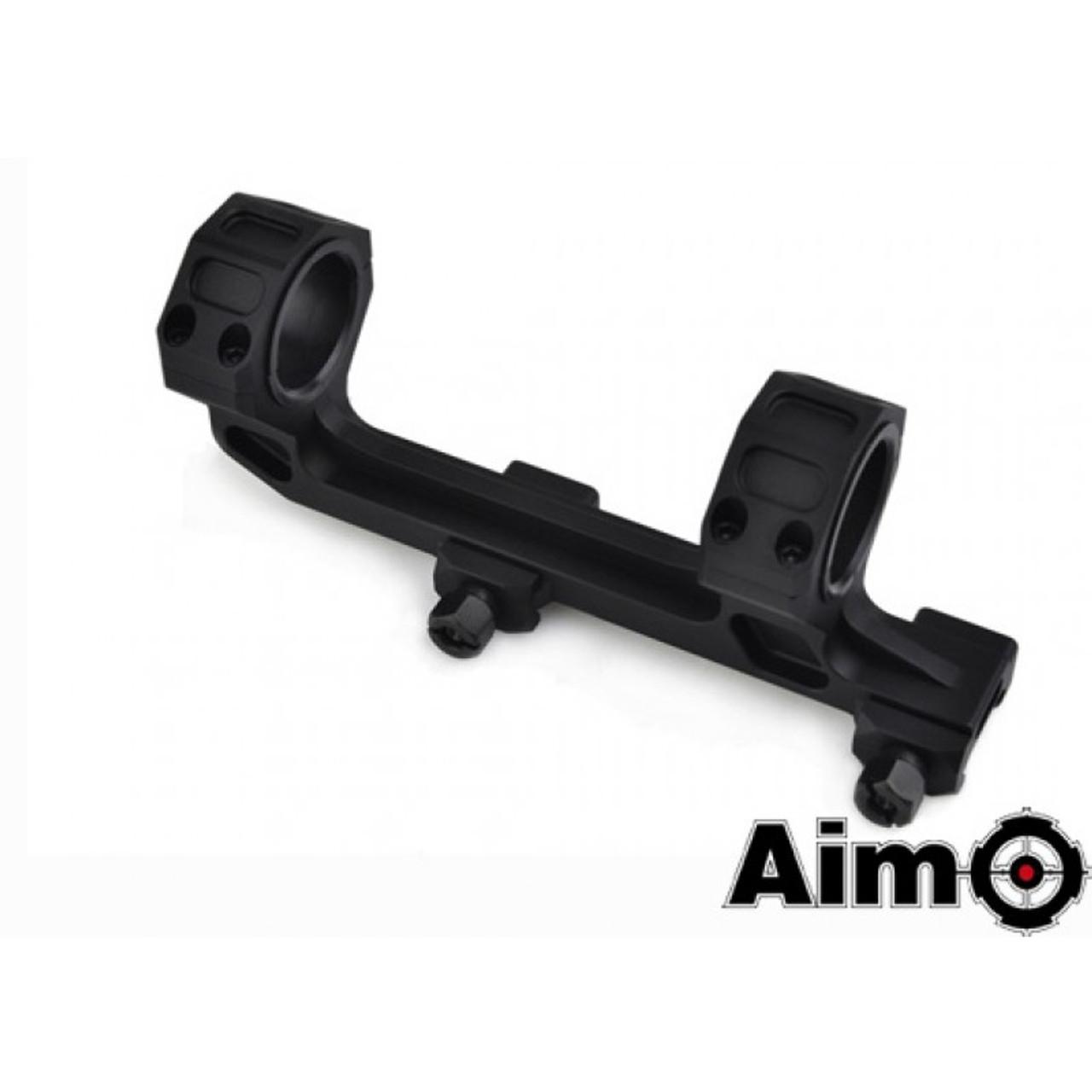 Aim-O GE Short Version Scope Ring Mount - Black