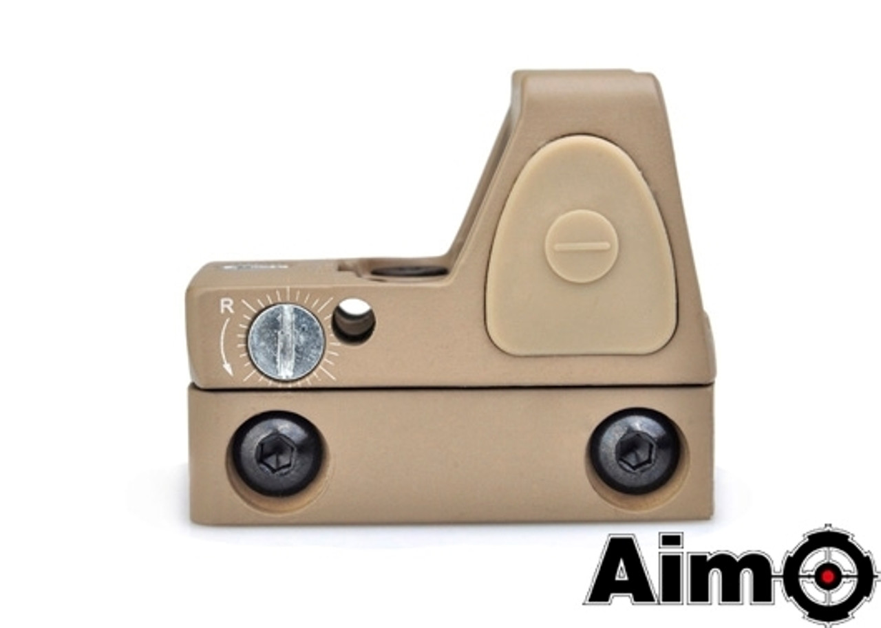 Aim-O Adjustable LED RMR Red Dot - DE