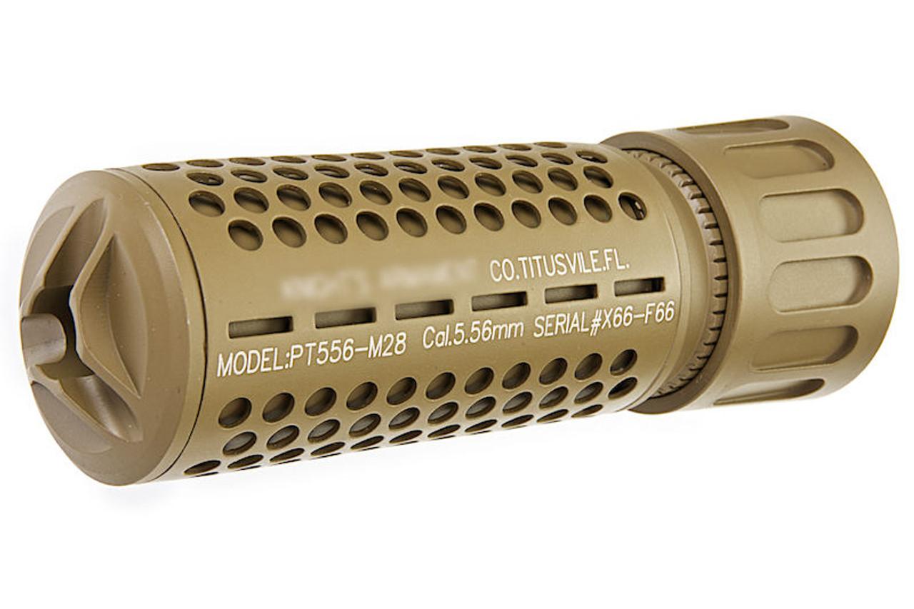 GK Tactical KAC QDC Suppressor - Tan