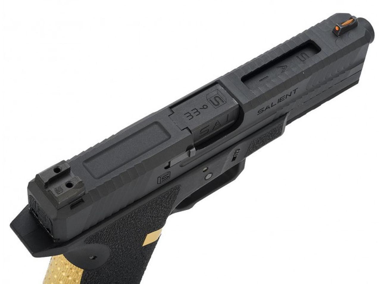 EMG Salient Arms International BLU GBB Pistol - Black