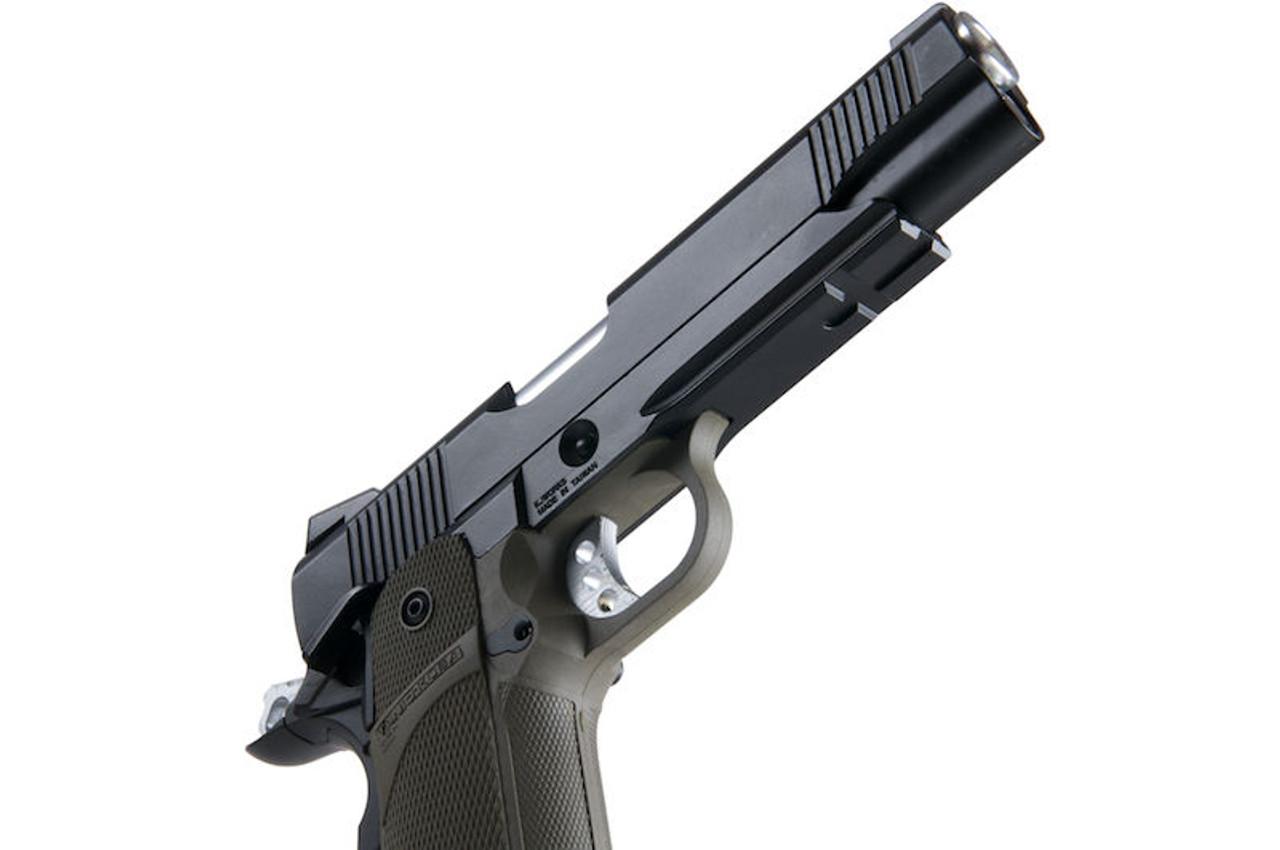 KJ Works KP-05 Hi Capa GBB Pistol - OD