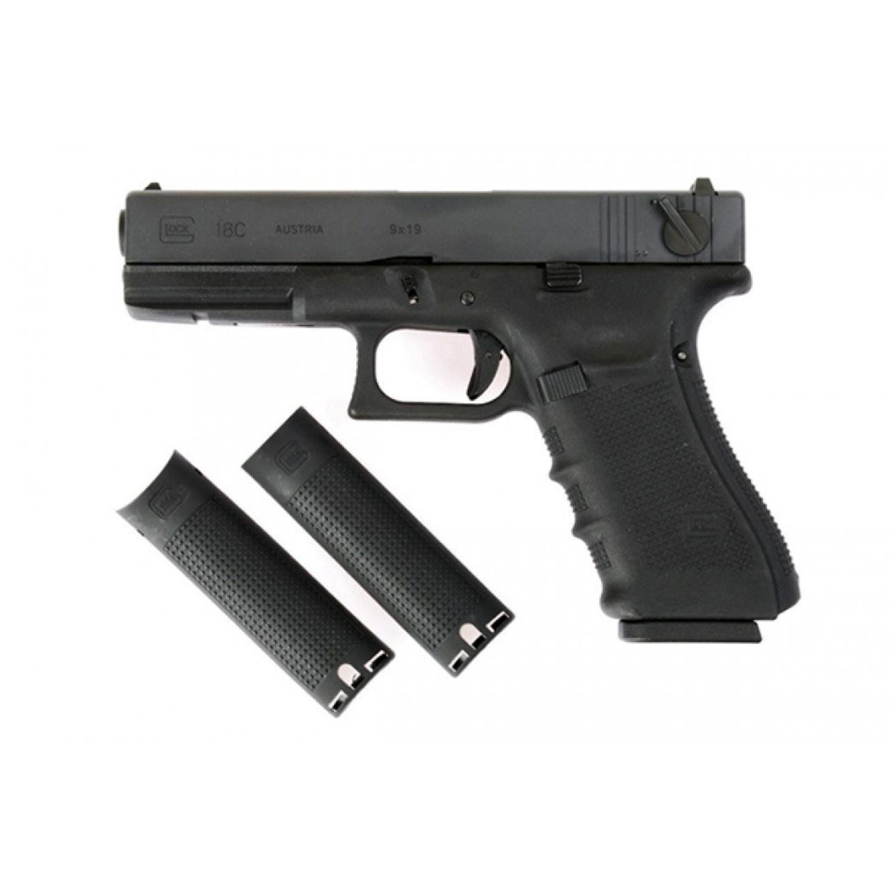 WE EU18 Gen 4 GBB Pistol - Black