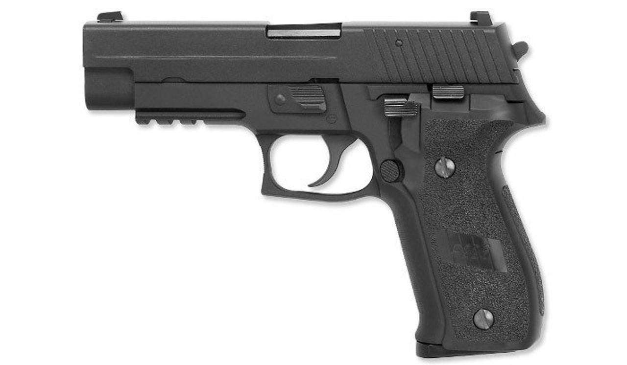 WE F226 Rail GBB Pistol - Black