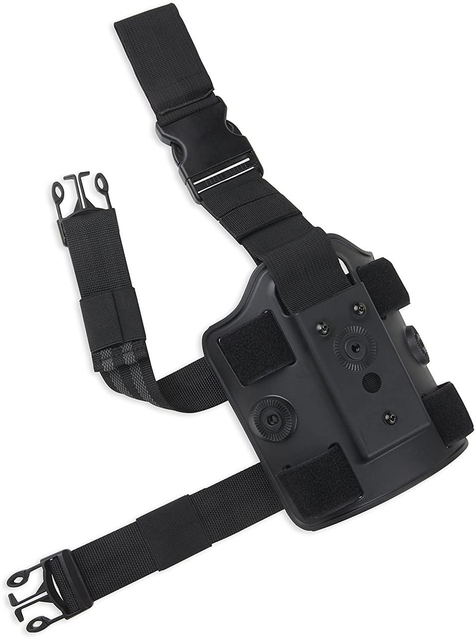 Bulldog Drop Leg Platform - Black