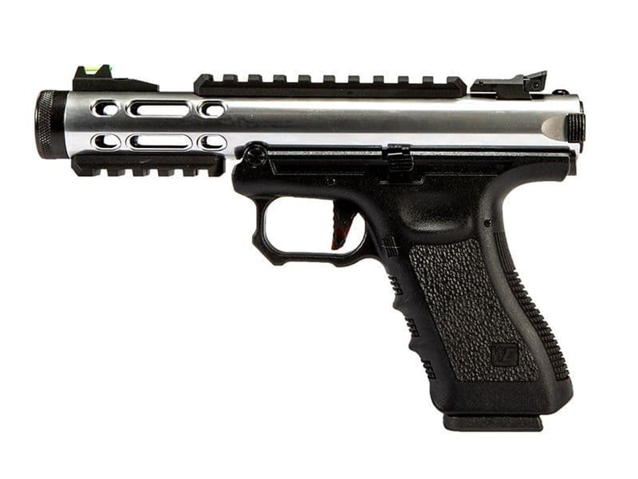 WE Galaxy G Series GBB Pistol - Silver
