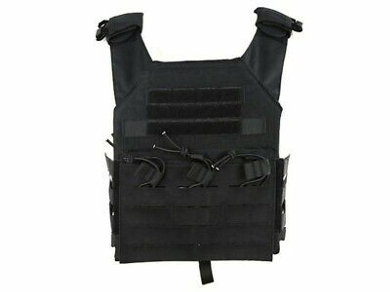 Big Foot JPC Tactical Vest Strengthened - Black