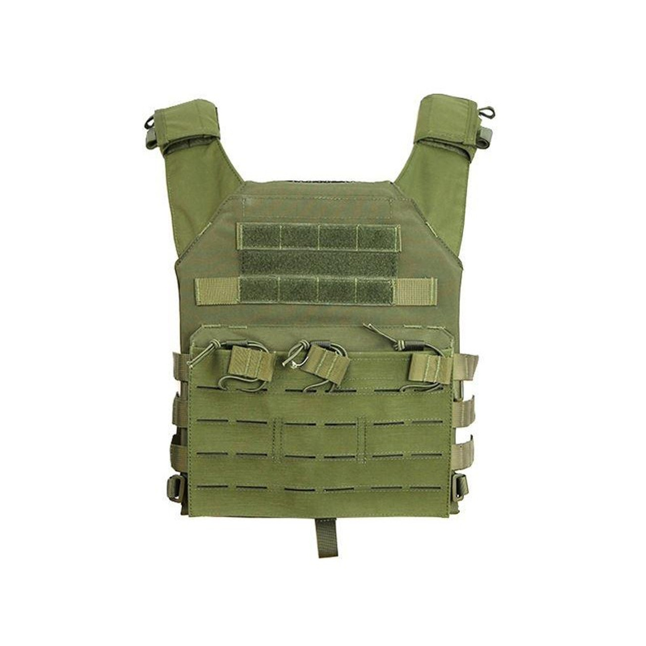 Big Foot JPC Tactical Vest Strengthened - OD
