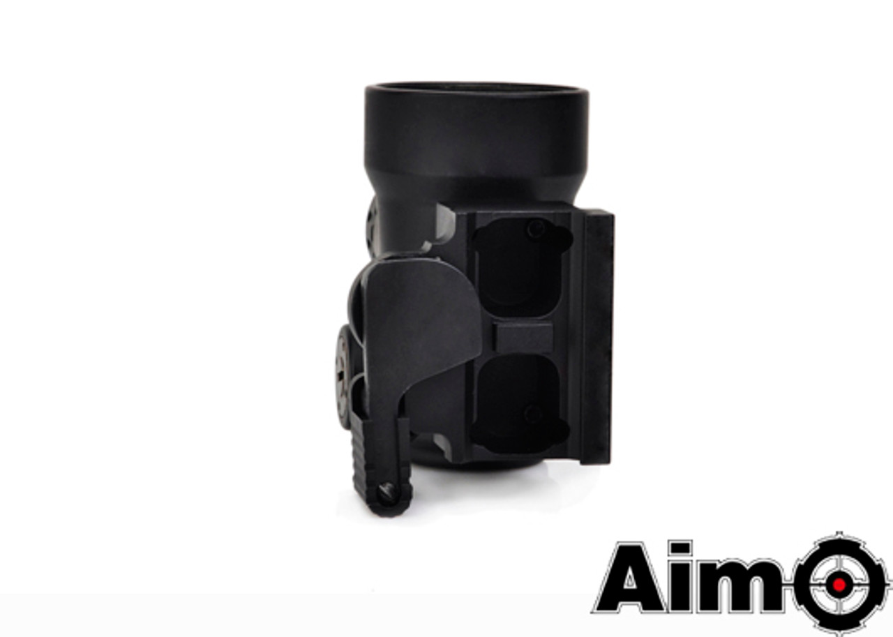Aim-O MRO Red Dot with QD Riser Mount & Low Mount - Black