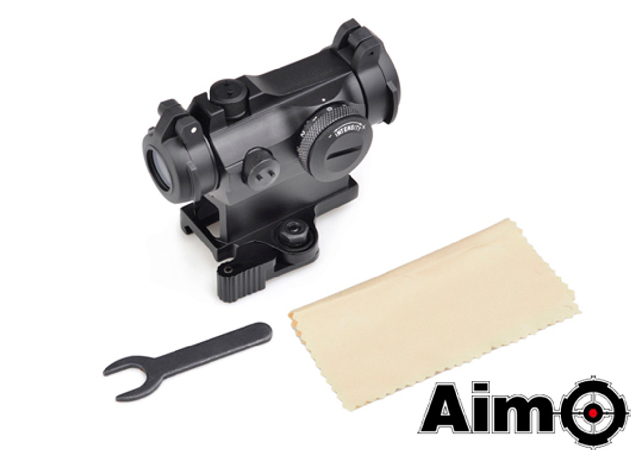 Aim-O T2 Red Dot With QD Mount - Black