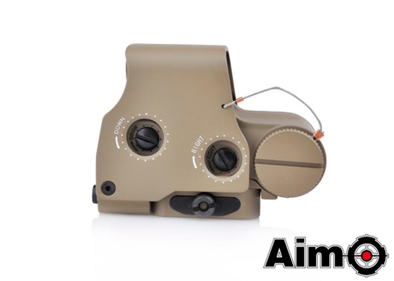 Aim-O XPS 3-2 Red/Green Dot & QD Mount - Dark Earth