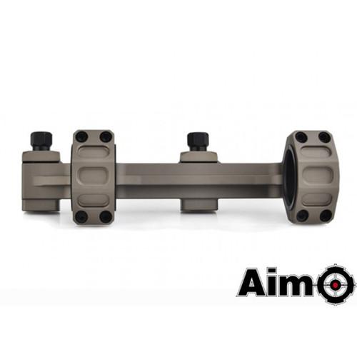 Aim-O GE Short Version Scope Ring Mount - Dark Earth