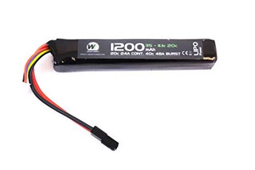 Nuprol 1200mAh 11.1V 20c LiPo Stick Type