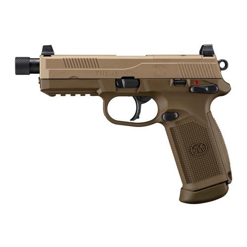 Tokyo Marui FNX-45 Tactical GBB Pistol - Tan