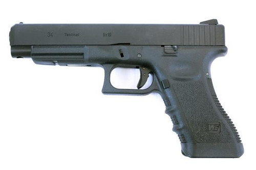 WE EU34 Gen 3 GBB Pistol - Black
