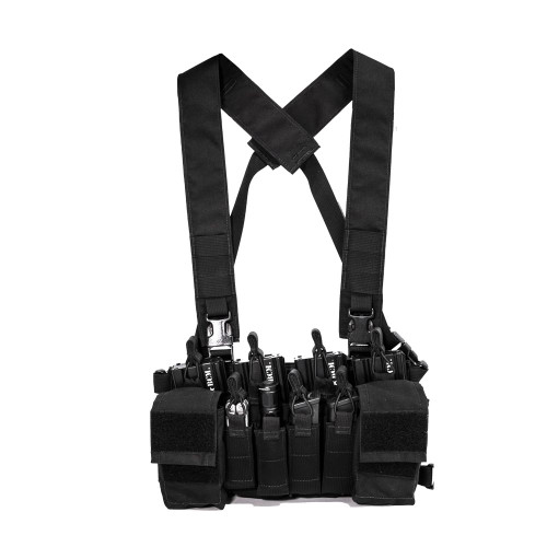 Nuprol PMC Micro B Chest Rig - Black