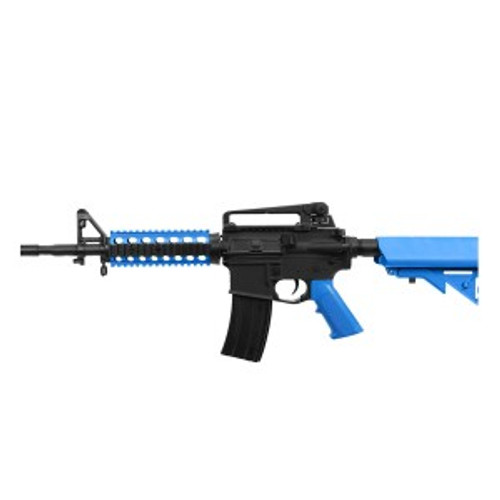 Bulldog M4PG RIS AEG Rifle - Black/Blue
