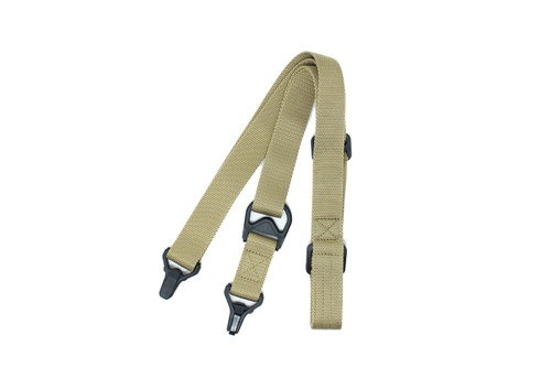 Nhelmet MS3 Multi-Mission Single Point / 2 Point Sling Nylon - Dark Earth