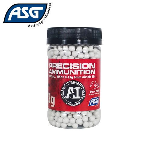 ASG 0.43g BBs Precision Ammunition - 1000