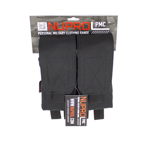 Nuprol M4 Double Flap Mag Pouch Black