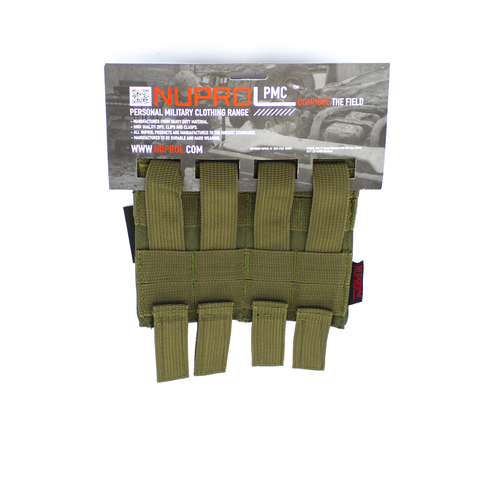 Nuprol M4 Double Flap Mag Pouch Green